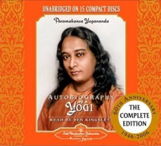 Autobiography of a Yogi Audio CD
